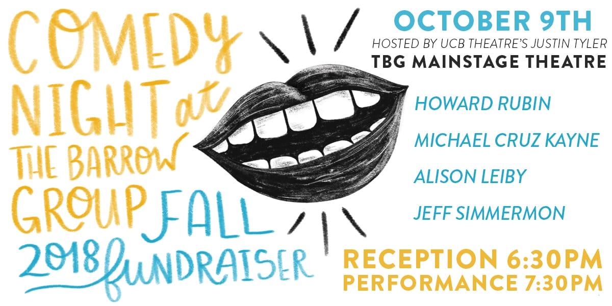 Comedy Night Fundraiser October 9, 2018