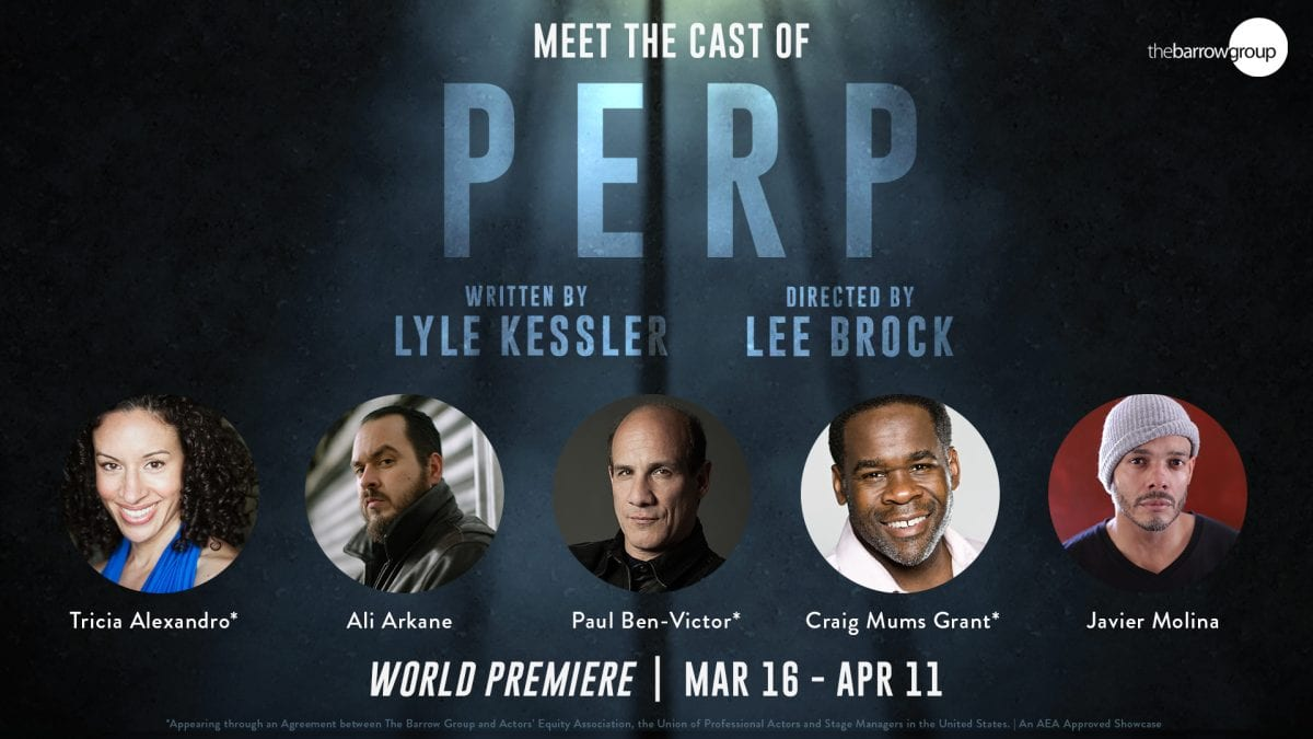 Meet the cast of PERP graphic
